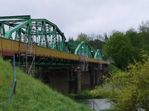 Zakończenie remontu na moście w Huzelach