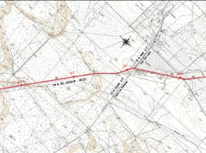 Mapa przedstawiająca lokalizację inwestycji