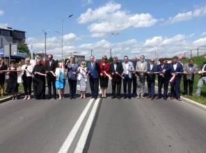 Otwarcie  nowego odcinka drogi wojewódzkiej nr 992 w Jaśle