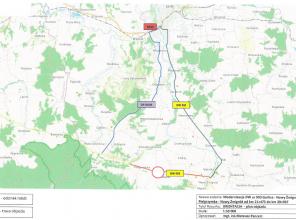 Od 14 czerwca do 3 lipca zamknięcie DW 993 na odcinku Pielgrzymka - Nowy Żmigród