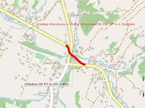 Rozbudowa i budowa DW878 Stobierna - Rzeszów - Dylągówka na odcinku Tyczyn – Dylągówka – koncepcja projektowa