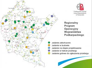 Stan realizacji Regionalnego Programu Operacyjnego na drogach wojewódzkich